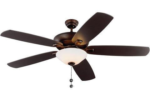 "Monte Carlo 5CSM60RBD 60"" Colony Super Max Ceiling Fan in Roman Bronze"
