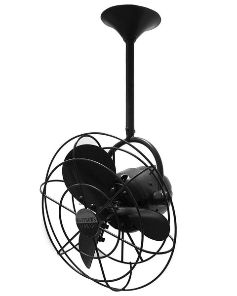 "Matthews Fan Co BD-BK-MTL 13"" Ceiling Fan - Bianca Direcional in Matte Black"
