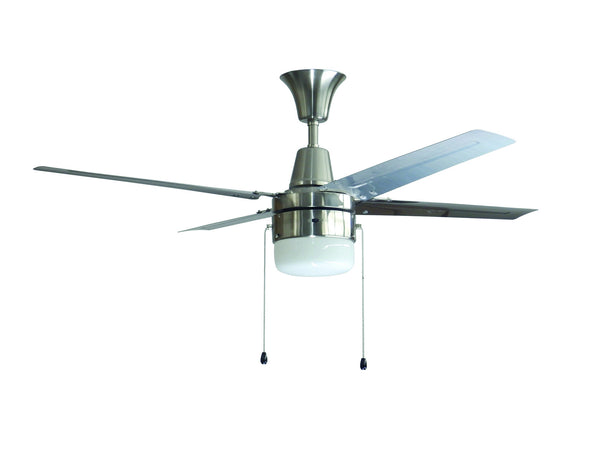 Craftmade - UB48BC4C1 - 48`` Ceiling Fan with Blades Included - Urbana - Brushed Chrome