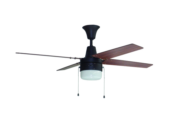 Craftmade - UBW48ABZ4C1 - 48`` Ceiling Fan with Blades Included - Wakefield - Aged Bronze Brushed