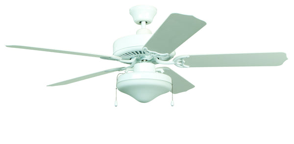Craftmade - WOD52WW5C - 52`` Ceiling Fan with Blades Included - All-Weather - White