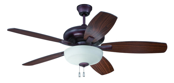 "Craftmade Forza FZA52OB5C1 52"" Ceiling Fan with Blades Included in Oiled Bronze"