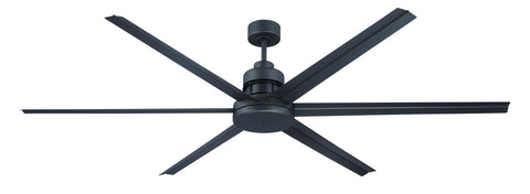 "Craftmade Mondo MND72ESP6 72"" Ceiling Fan with Blades Included in Espresso"