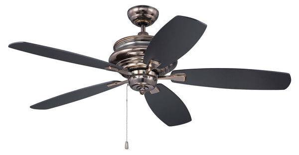 "Craftmade - YOR52LB5 - 52"" Ceiling Fan with Blades Included - Yorktown - Legacy Brass"