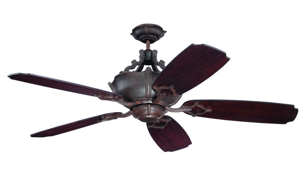 "Craftmade - K11064 - 52"" Ceiling Fan Motor with Blades Included - Wellington XL - Aged Bronze Textured"