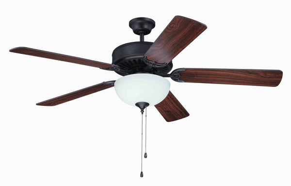 "Craftmade - K11101 - 52"" Ceiling Fan Motor with Blades Included - Pro Builder 201 - Aged Bronze Brushed"
