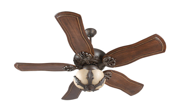 "Craftmade - K11143 - 52"" Ceiling Fan Motor with Blades Included - Cordova - Aged Bronze Textured"