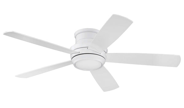 "Craftmade - TMPH52W5 - 52"" Ceiling Fan w/Blades and Light Kit - Tempo Hugger - White"