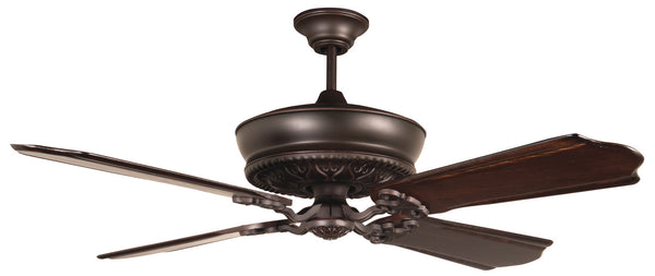 "Craftmade - K11234 - 52"" Ceiling Fan Motor with Blades Included - Monroe - Oiled Bronze Gilded"
