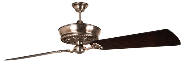 "Craftmade - K11236 - 52"" Ceiling Fan Motor with Blades Included - Monroe - Tarnished Silver"