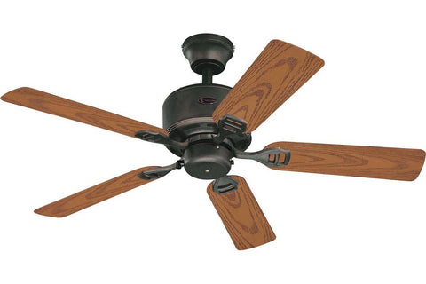 "Westinghouse 7234500 44"" Bayside in Oil Rubbed Bronze with Dark Cherry Blades Wet Rated Outdoor Ceiling Fan"