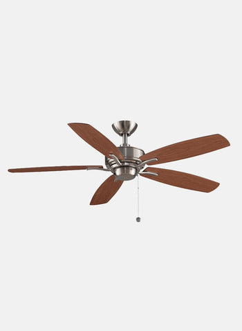 "Fanimation - FP6284BN - 52"" Ceiling Fan - Aire Deluxe - Brushed Nickel"