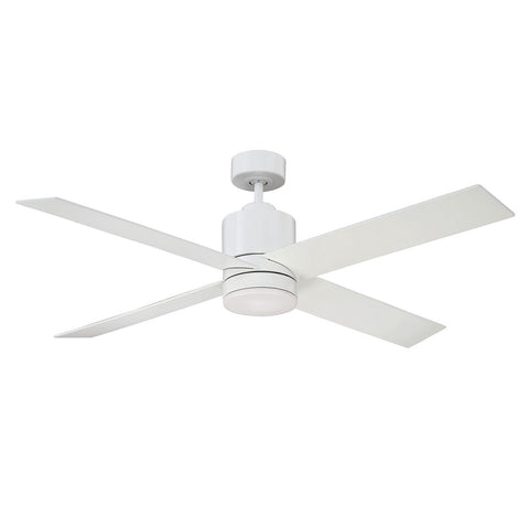 Savoy House - 52-6110-4WH-WH - 52``Ceiling Fan - Dayton