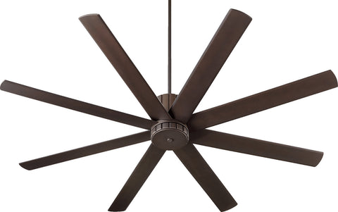 "Quorum 72"" Ceiling Fan from the Proxima collection in Oiled Bronze finish"