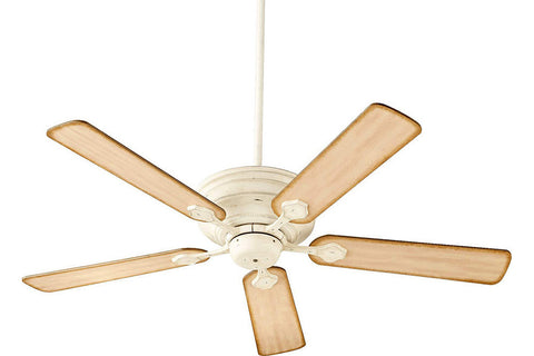 "Quorum 76525-70 52"" Barclay Ceiling Fan in Persian White"