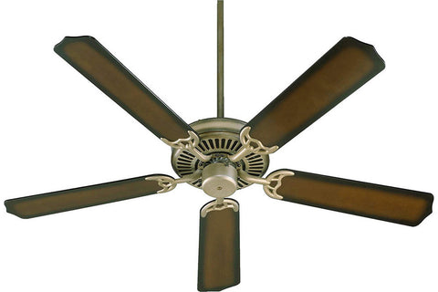 "Quorum 77525-2508 52"" Capri I Ceiling Fan in Antique Flemish"