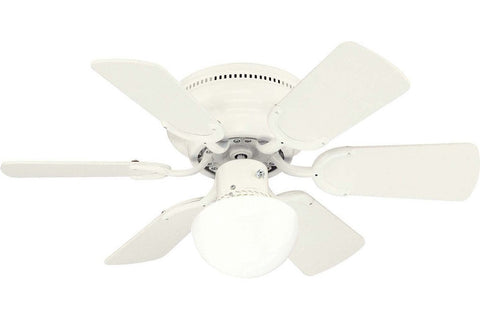 "Westinghouse 7810800 30"" Petite in White with Reversible White and White Washed Pine Blades Indoor Rated Ceiling Fan"