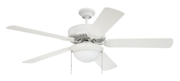 "Craftmade - CES209W - 52"" Ceiling Fan - Pro Energy Star 209 - White"