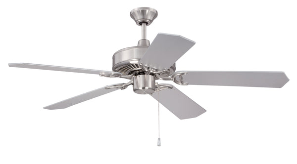 "Craftmade - CES52BNK - 52"" Ceiling Fan - Pro Energy Star - Brushed Polished Nickel"
