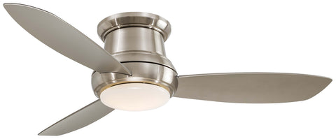 Minka Aire - F519L-BN - 52``Ceiling Fan - Concept‰̣ۡå¢ Ii 52`` Led - Brushed Nickel
