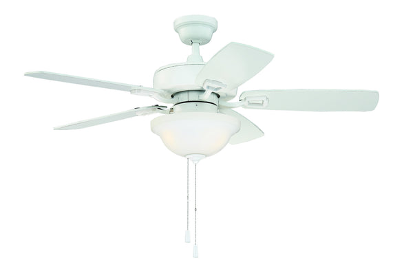 Craftmade - TCE52W5C1 - 52''Ceiling Fan - Twist N Click - White