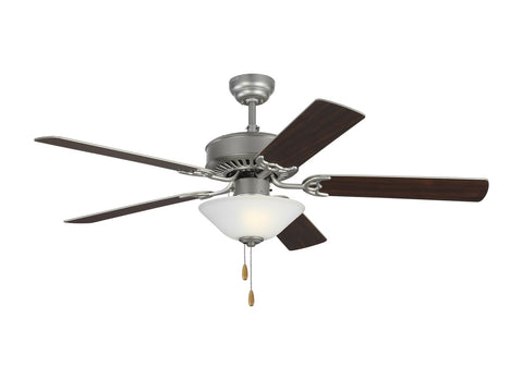"Monte Carlo 5HV52BPD 52"" Ceiling Fan - Haven 52 LED 2 in Brushed Pewter"