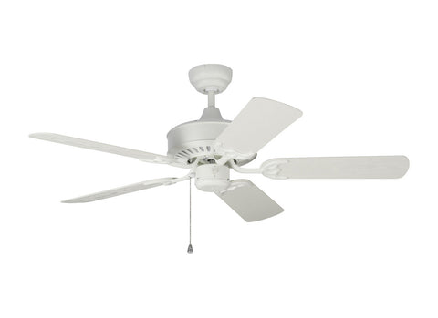 "Monte Carlo 5HVO44RZW 44"" Ceiling Fan - Haven 44 Outdoor in Matte White"