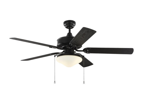 "Monte Carlo 5HVO52BKD 52"" Ceiling Fan - Haven 52 Outdoor LED in Matte Black"