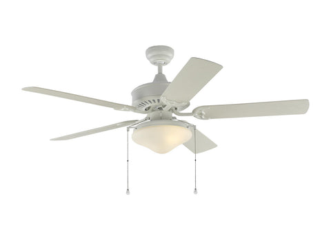 "Monte Carlo 5HVO52RZWD 52"" Ceiling Fan - Haven 52 Outdoor LED in Matte White"