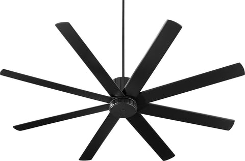 "Quorum 72"" Ceiling Fan from the Proxima collection in Noir finish"