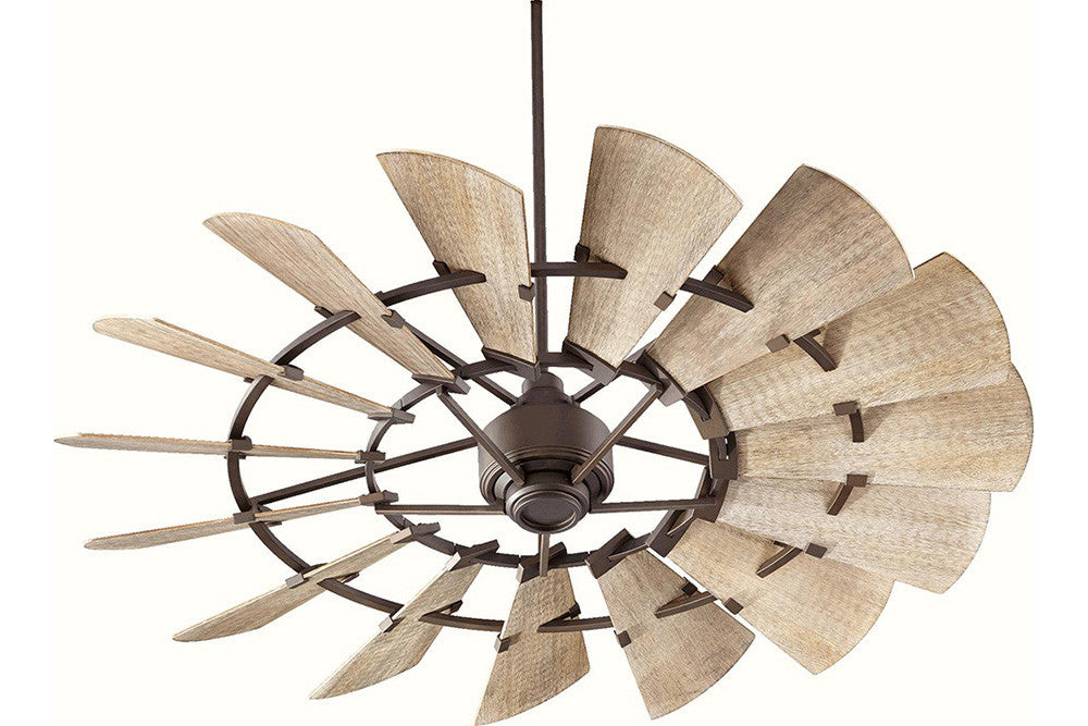 model ceiling galvanized quorum qu fan in windmill