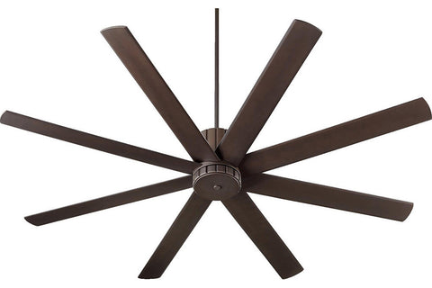 "Quorum 96728-86 72"" Proxima Ceiling Fan in Oiled Bronze"