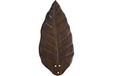 "Casablanca 99046 52""-54  Blackened Pecan Carved Wood Damp Blades"