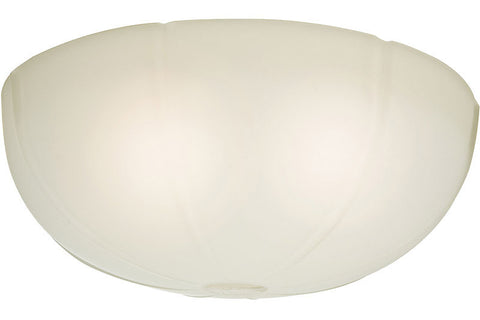 Casablanca 99061 Cased White Glass Bowl