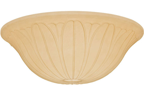 Casablanca 99063 Toffee Glass Bowl