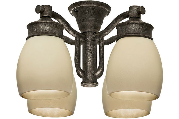 Casablanca 99087 Outdoor Four-Light Aged Bronze Fixture