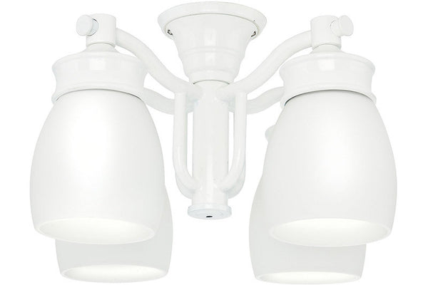 Casablanca 99088 Outdoor Four-Light Snow White Fixture
