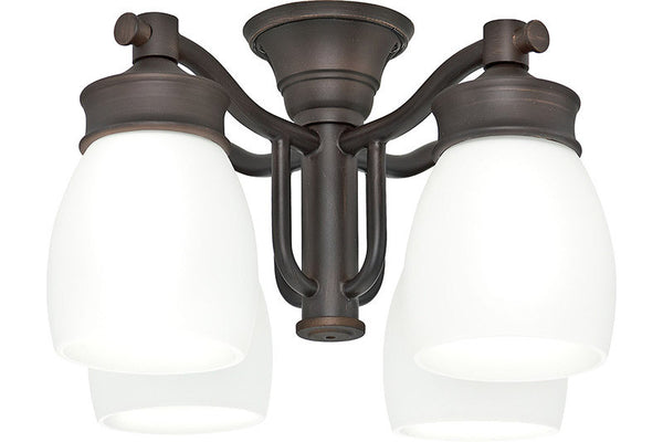 Casablanca 99090 Outdoor Four-Light Brushed Cocoa Fixture