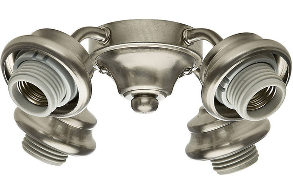 Casablanca 99103 Four-Light Brushed Nickel Fitter