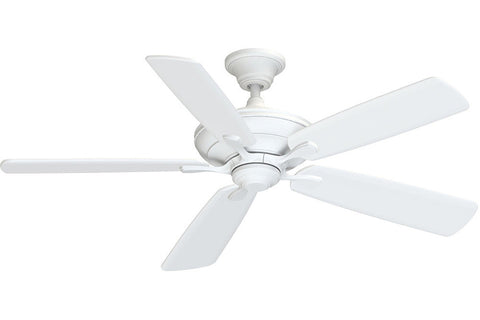 "Fanimation A1MW-B154MW 54"" Distinction AC Ceiling Fan in Matte White"