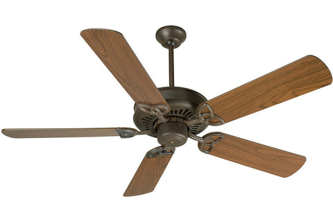 "Craftmade AT52AG 52"" American Tradition Ceiling Fan in Aged Bronze"