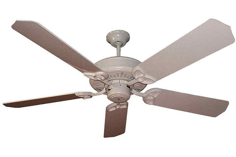 "Craftmade AT52AW 52"" American Tradition Ceiling Fan in Antique White"