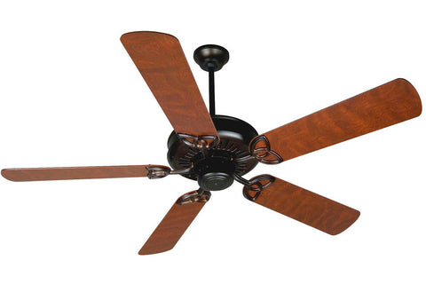 "Craftmade AT52OB 52"" American Tradition Ceiling Fan in Oiled Bronze"