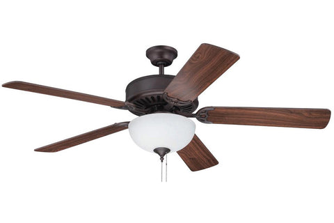 "Craftmade C201ABZ 52"" Pro Builder 201 Ceiling Fan in Aged Bronze Brushed"