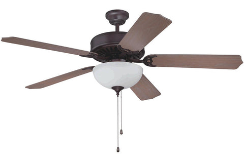 "Craftmade C201OB 52"" Pro Builder 201 Ceiling Fan in Oiled Bronze"