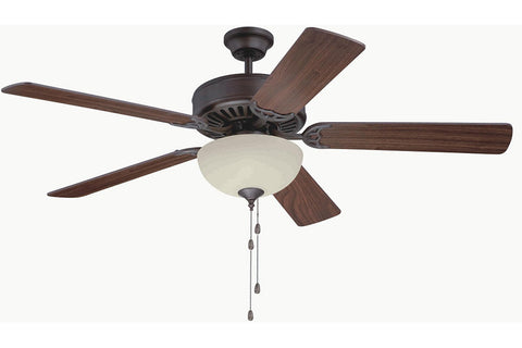 "Craftmade C202ABZ 52"" Pro Builder 202 Ceiling Fan in Aged Bronze Brushed"