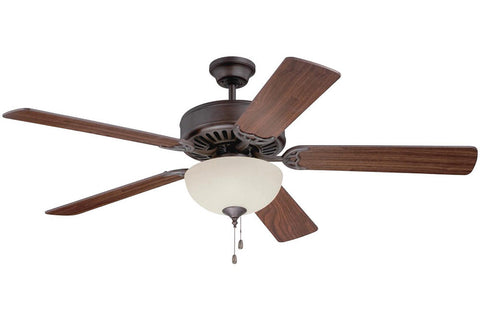 "Craftmade C202AG 52"" Pro Builder 202 Ceiling Fan in Aged Bronze"