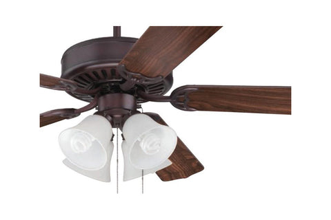 "Craftmade C203OB 52"" Pro Builder 203 Ceiling Fan in Oiled Bronze"
