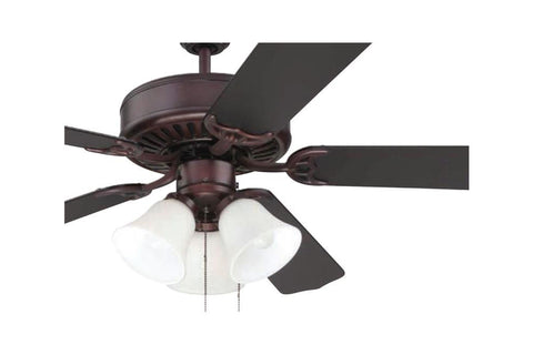 "Craftmade C205OB 52"" Pro Builder 205 Ceiling Fan in Oiled Bronze"