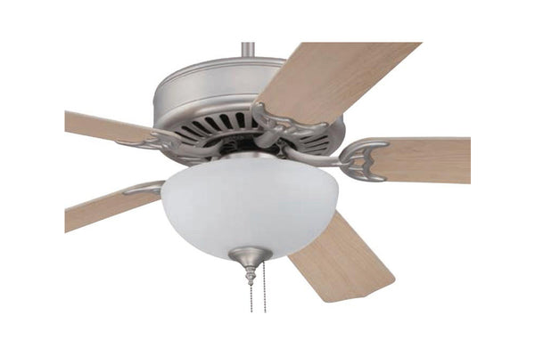 "Craftmade C207BN 52"" Pro Builder 207 Ceiling Fan in Brushed Nickel"
